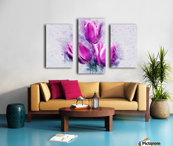 flowerz Canvas print