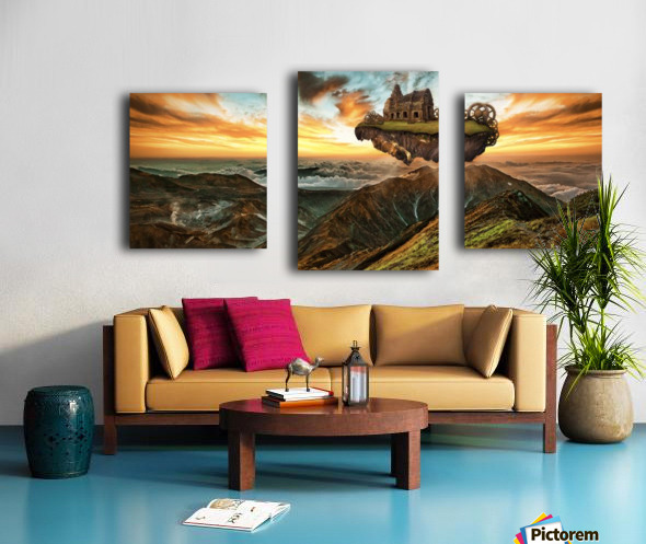 panorami Canvas print