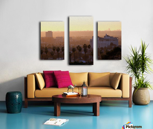 Southern California Sunshine Canvas print