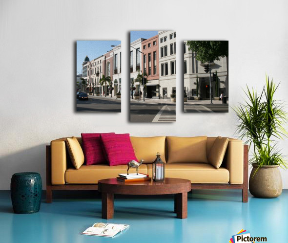 North Rodeo Drive Canvas print