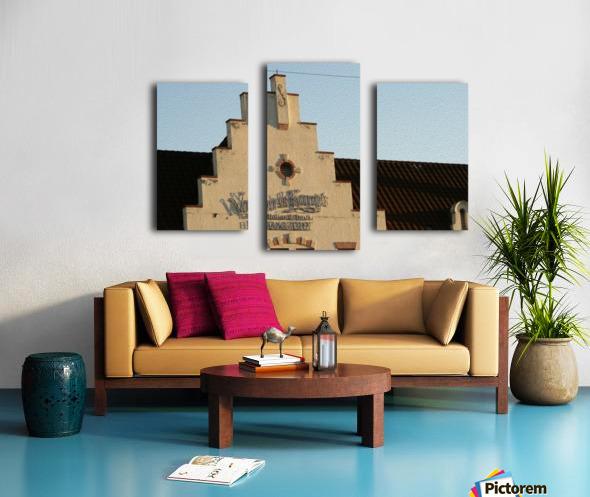 Van de Kamp's Building Canvas print