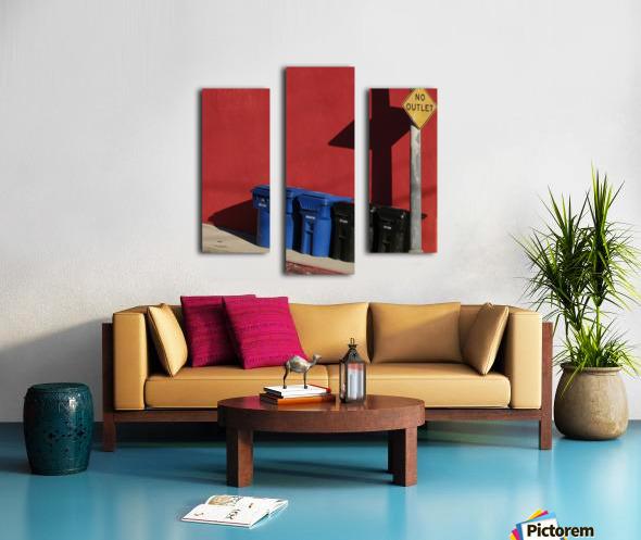 No Outlet  Canvas print