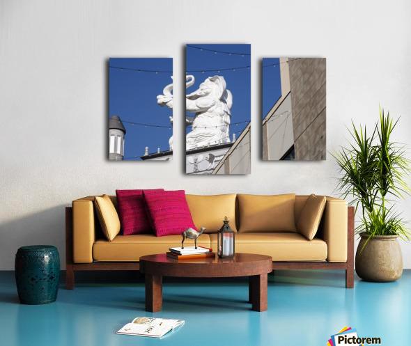 Hollywood Dancing Elephant Canvas print