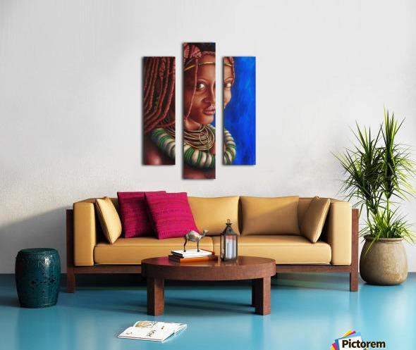 coquette Canvas print