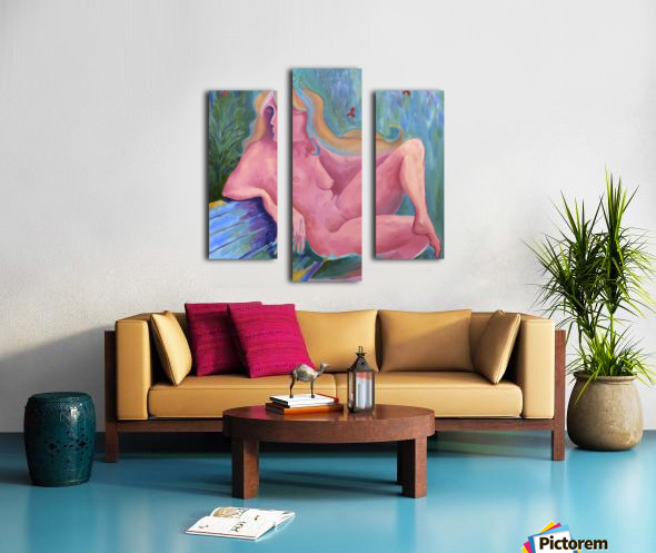 Pink semi sweet Canvas print