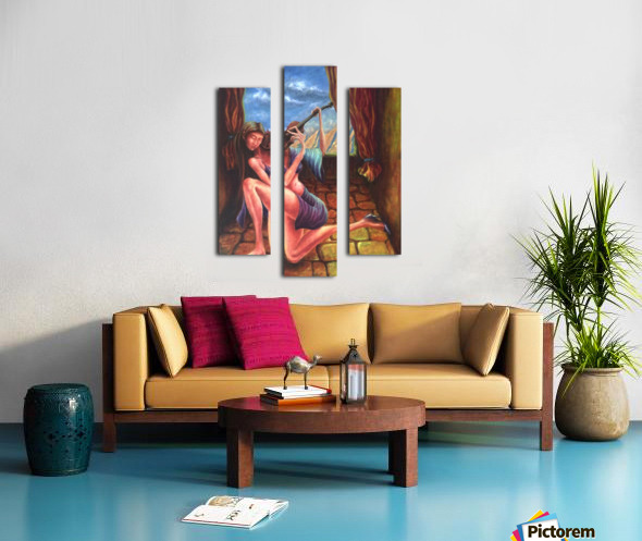 Pizzicato Canvas print