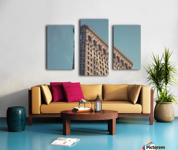 New York Flatiron Building 2 Canvas print