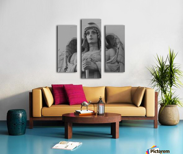 Guardian Angel on Watch Canvas print