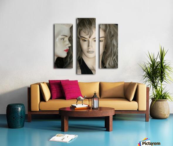 Mannequin Dreams Canvas print
