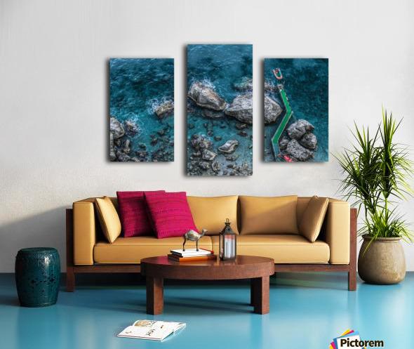 The Beach - Amalfi Coast - Italy Canvas print
