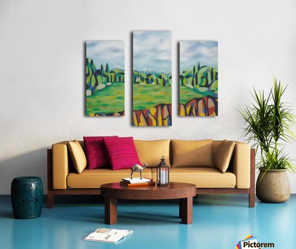 A New Arcadia Canvas print