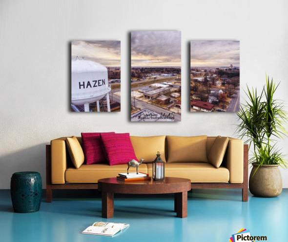 Hazen, AR   Hazen Watertower Canvas print