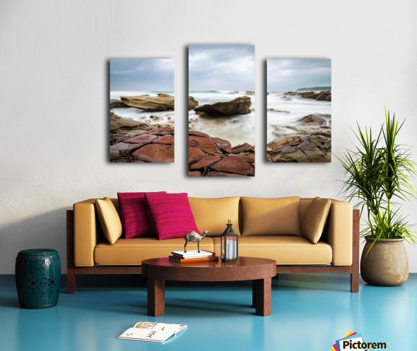Copper Canvas print