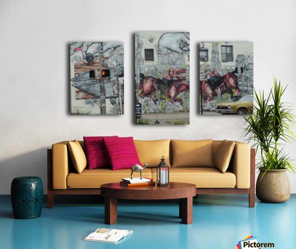 EDGEWOOD AVE. ATLANTA Canvas print