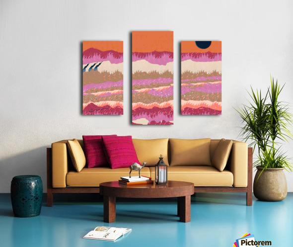 Landscape 748 Canvas print