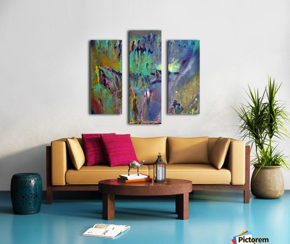 The Unseen World Canvas print