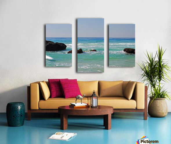 Ocean by Dana Point CA Canvas print