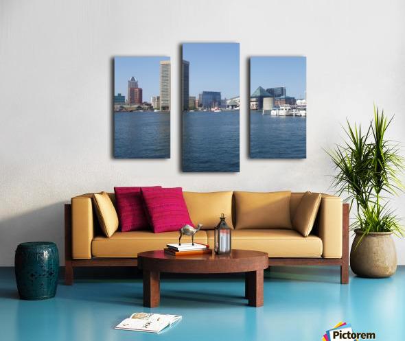 Baltimore Harbour Canvas print