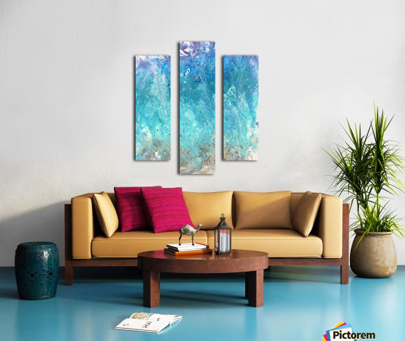 Abstract  Wave Painting Canvas print