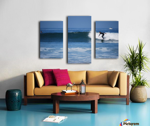 Califonia surfer Canvas print