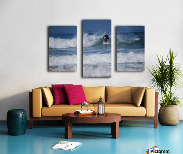 Dana Point surfer Canvas print