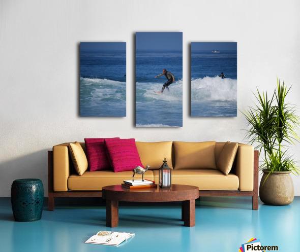 Dana Point surfers  Canvas print