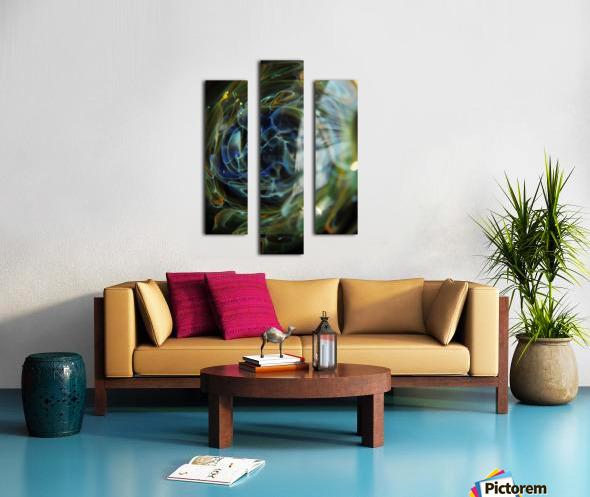 GalaxyInGlassV001 Canvas print