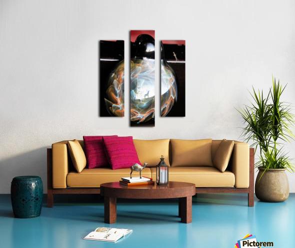 ReflectionInGlassF002 Canvas print