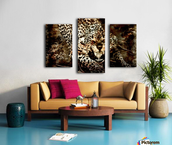 Jaguar Guyana Canvas print