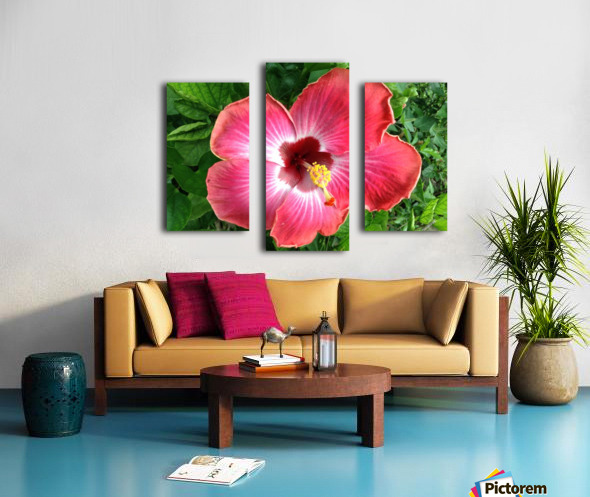 Awesome Petals Canvas print