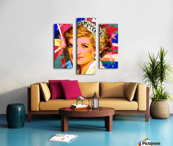 Diana X  Canvas print