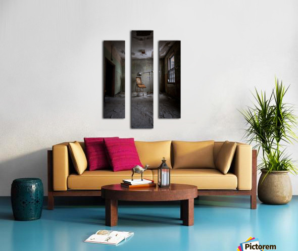 Abandoned Asylum Canvas print