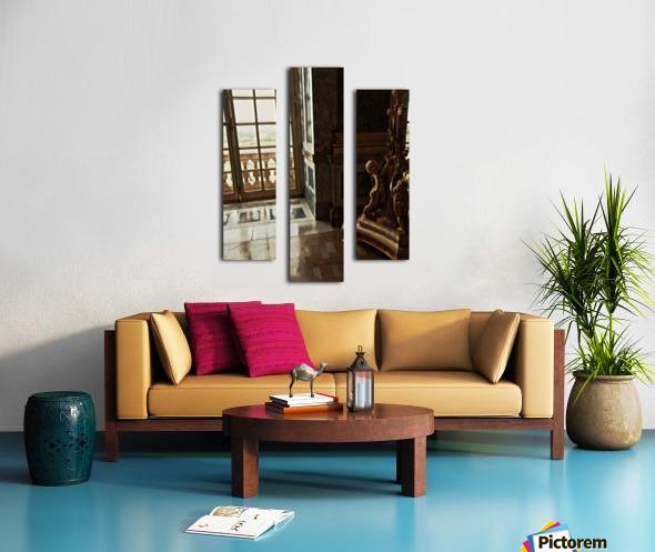 Versailles & Window Canvas print