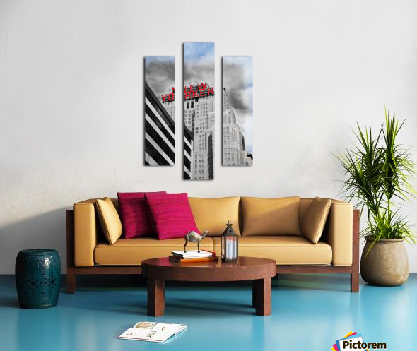 NewYorker Canvas print