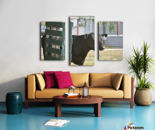 Pallet Canvas print