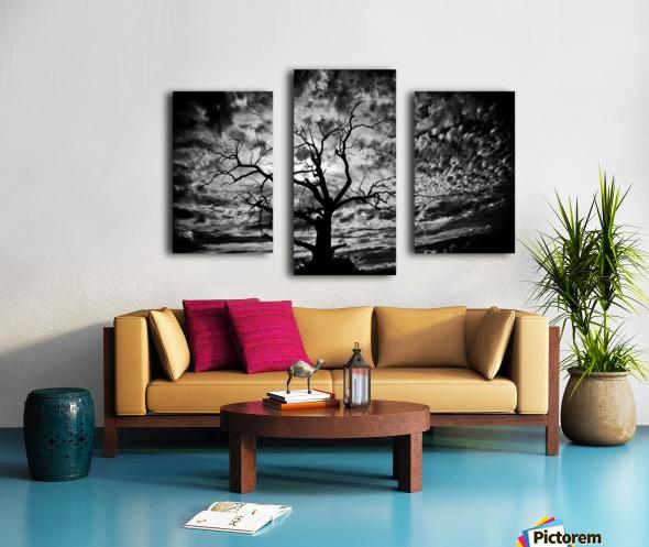 Spooky tree Impression sur toile