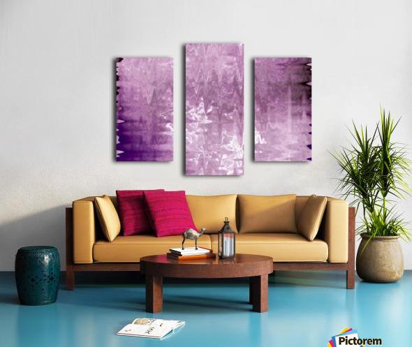 PurplePassion Wave Canvas print