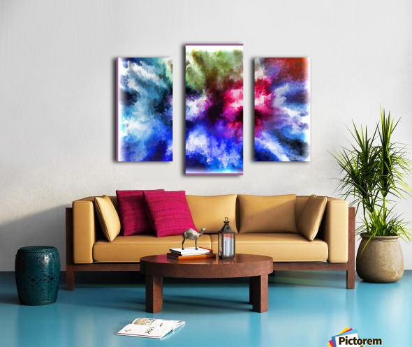 Mind Splash Canvas print