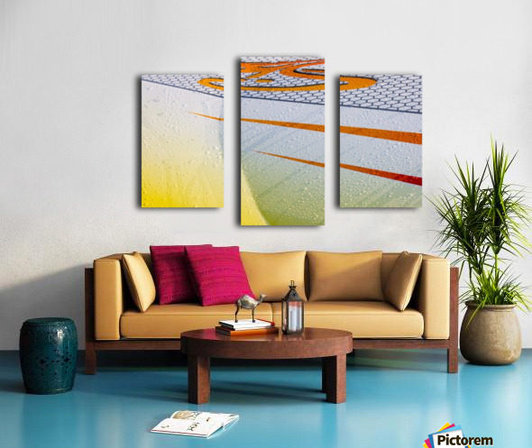 From the Right Canvas print