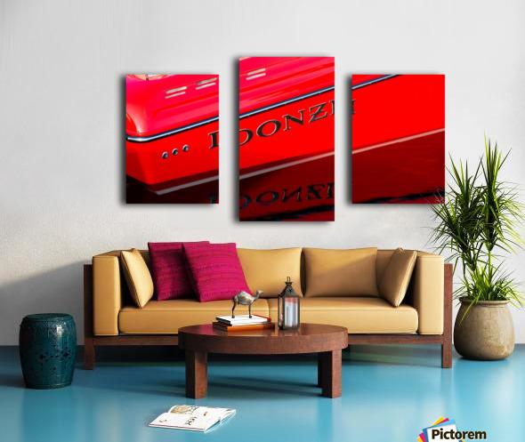 Donzi Canvas print