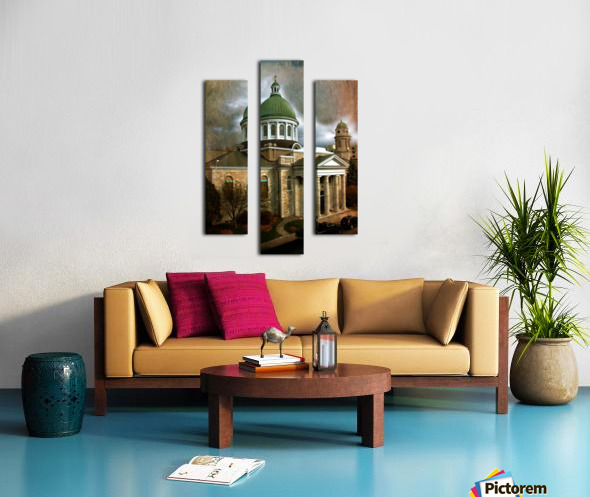 St Georges Cathedral Canvas print