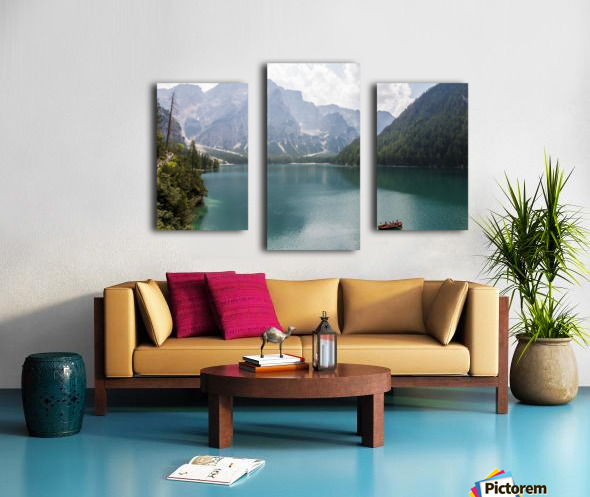 Lake of Braies Canvas print