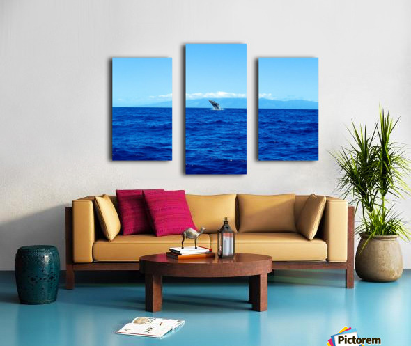 Bigger Blue Canvas print