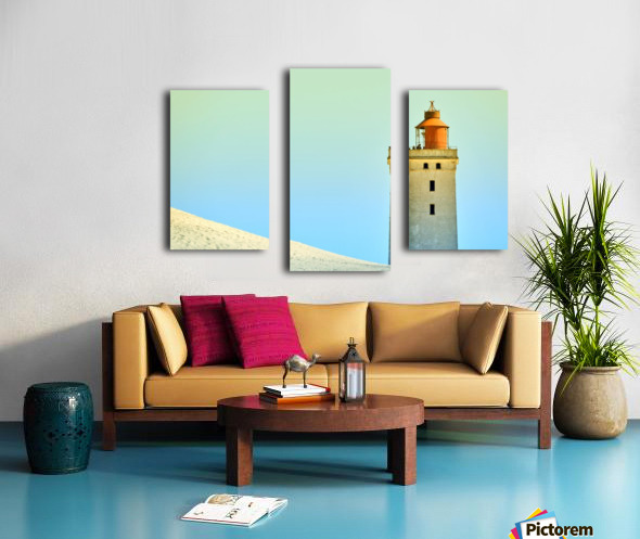 Lighthouse Rubjerg Knude Canvas print