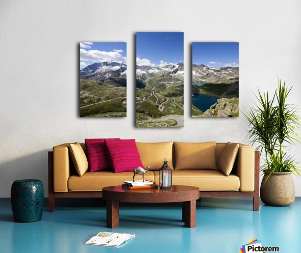 Landscape of Gran Paradiso Canvas print