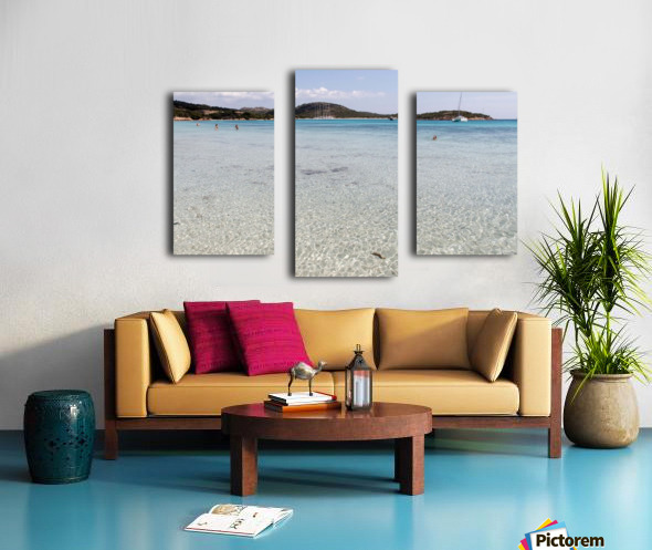 Rondinara beach Canvas print