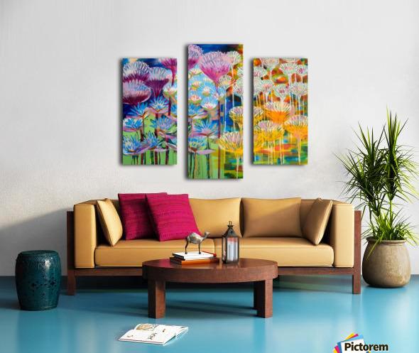 Levity Blooms Canvas print