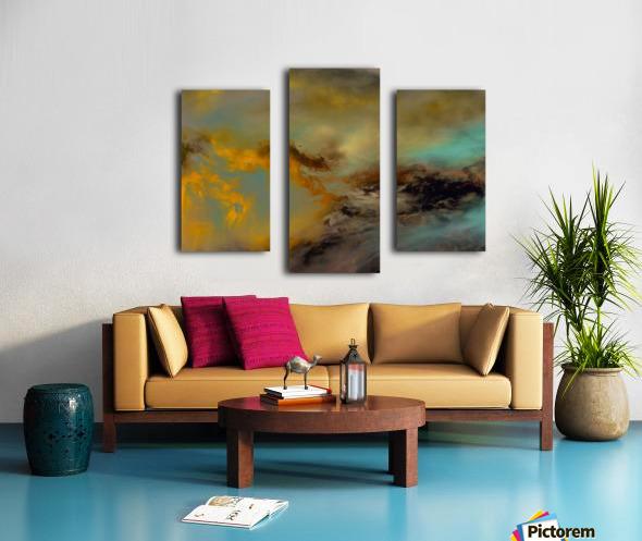 ABST 041018 Canvas print