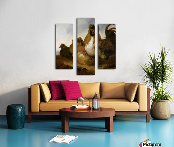 Aelbert Cuyp Rooster Canvas print