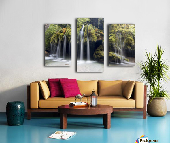 Capelli di Venere waterfalls Canvas print